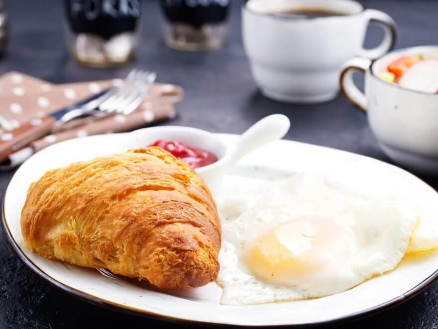 Frühstück vorerst nur am Wochenende